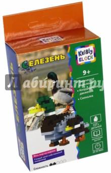 Конструктор Kribly Block Селезень, 107 деталей (65243) intellect block конструктор чоппер 2 в 1