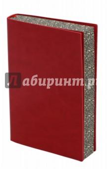 Ежедневник недатированный Сариф (А6, красный) (42575) желай делай ежедневник