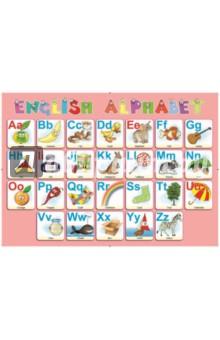 Алфавит английский. Настольное детское издание пазлы бомик алфавит английский