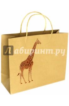 Zakazat.ru: Пакет подарочный Жираф (32х12х26 см) (40116).
