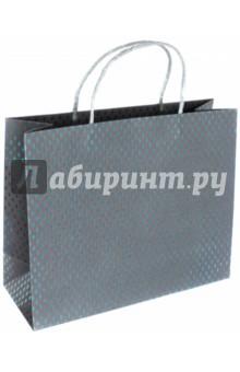 Пакет подарочный Ромбы (32х12х26 см) (40122) magic time подарочный пакет новогодняя лампа 26 32 4 12 7 см