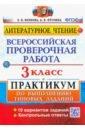 Обложка ВПР Литературное чтение 3кл. Практикум
