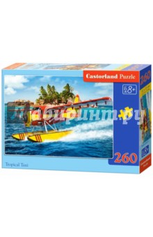 Puzzle-260 MIDI Тропическое такси (B-27323) puzzle 260 пожарная машина b 26760