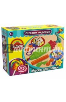 Набор для лепки Готовим леденцы. Масса и аксессуары. 16 предметов (089631) аксессуары для детей