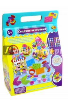 Набор для лепки Сладкая вечеринка, масса и аксессуары. 26 предметов (103570) аксессуары для детей