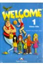 Обложка 3CD Welcome-1. Class Audio CD. Beginner (в классе)