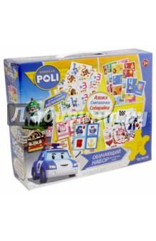 Robocar. Обучающий набор 4в1. Настольные игры (02635) обучающий игровой набор для малышей 4 в 1 азбука считалочка прятки времена года 01973