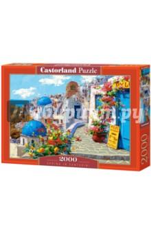 Puzzle-2000 Весна в Санторини (C-200603) puzzle 500 вид санторини b 52905