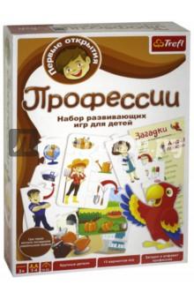 Trefl. Обучающая игра Профессии (01253) а круглова а николаев развивающие игры для детей