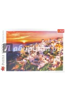 Trefl Puzzle-1000 Закат на Санторини (10435) trefl puzzle 500 полнолуние на манхеттене 37261