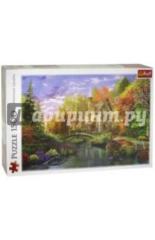 Trefl. Puzzle-1500 Дом на берегу озера (26136)
