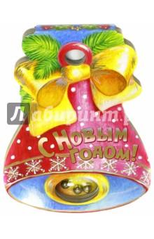 С Новым Годом! бубенчики декоративные купить в москве