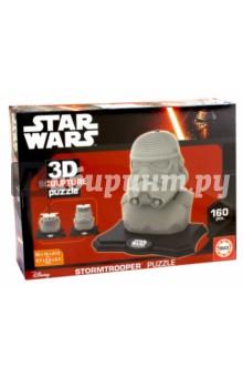 Star Wars. Скульптурный 3D пазл Штурмовик, 160 Деталей (16969) educa пазл пекарня