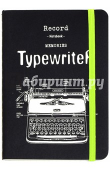 Записная книжка Retro Typewriter (70 листов, без линовки, А6) (25765) black blade ceramic knife set chef s kitchen knives 4 size
