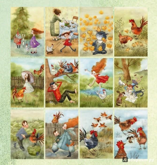 Иллюстрация 1 из 31 для Бодрого утра в Новом году! Набор открыток | Лабиринт - сувениры. Источник: Лабиринт