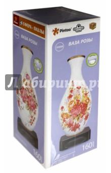 """3D Пазл """"Ваза. Розы"""", 160 деталей (S1008-160)"""