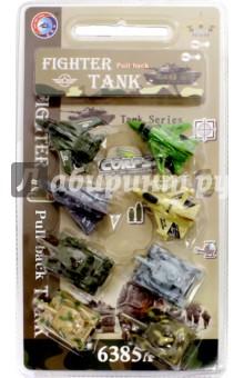 Набор инерционных игрушек. Самолеты, танки (6385А) дрофа медиа набор для изготовления игрушек пальчиковый театр домашние животные