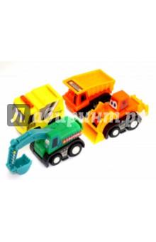 Набор инерционных машинок (4 штуки) (2823-4) набор инерционных игрушек танки 6385 4