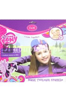 Купить Набор для создания маски из EVA Сумеречная искорка (64949), D&M, Шитье, вязание