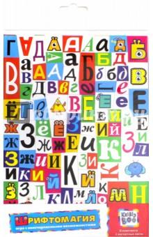 Обучающие магнитные пазлы Шрифтомагия (62739) какое слово написать что бы захотели