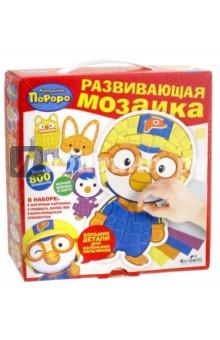 Настольная игра Пороро. Мозаика-набор для малышей