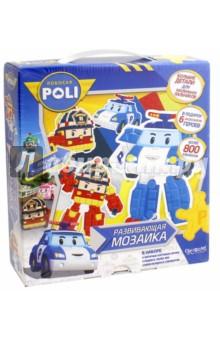 """Мозаика-набор для малышей """"Робокар"""" 3D (02422) Оригами"""