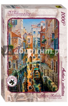 Step Puzzle-1000 Солнечная аллея в Венеции (79536) пазл италия венеция step puzzle 1000 деталей page 4