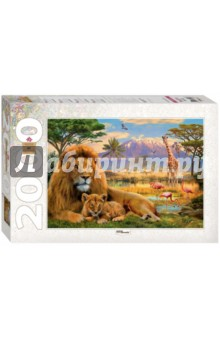 Step Puzzle-2000 Лев (84028) пазл замок хоэншвангау 2000 деталей 27053