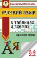 Русский язык. 5-9 классы. В таблицах и схемах