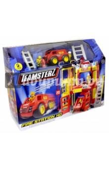 Большая пожарная станция Teamsterz (1416246.00) viking toys пожарная машина джамбо 28 см