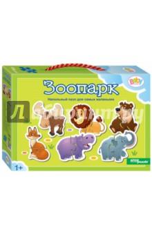 Купить Напольный пазл-мозаика Зоопарк (70121), Степ Пазл, Мягкие пазлы