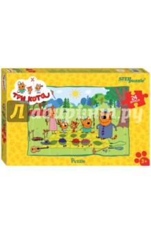 Step Puzzle-24 maxi 24 Три кота (90033)