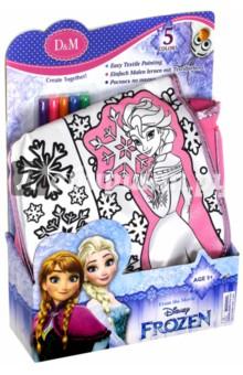 """Набор для росписи сумочки """"Эльза"""", розовая, большая (65068)"""