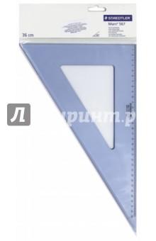 """Треугольник """"Mars 567"""" (пластиковый, 60°/30°, 36 см) (56736-60) STAEDTLER"""