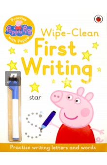 First Writing. Wipe-Clean