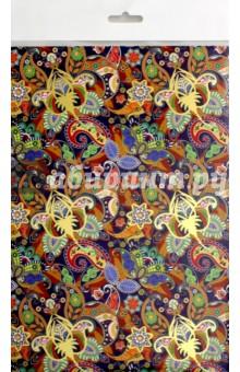 Картон цветной поделочный с тиснением Арабеска (А4, 4 листа) (С4284-03) картон цветной поделочный кружочки 4 листа с4284 07
