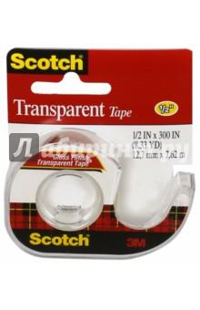 Клейкая лента на мини-диспенсере (12,7x7,62м) (225939) Scotch