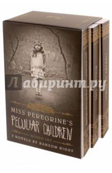 Miss Peregrine's Peculiar Children. 3-book Boxed Set don freeman quiet there s a canary in the library