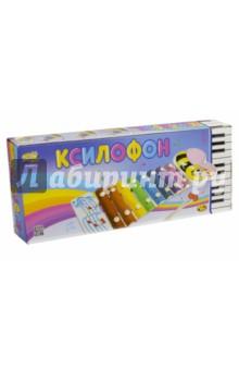 Купить Ксилофон детский ( в коробке, 36 см) (D-00043), DoReMi, Музыкальные инструменты