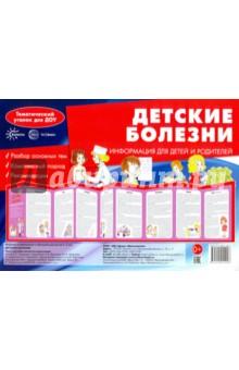 Ширмочка Детские болезни. Информация для детей и родителей ситечко для раковины хромовое tescoma d7 8cm 115207