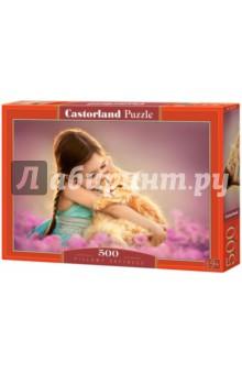 Puzzle-500 Рыжий котенок (B-52370) puzzle 500 белый котенок 29626