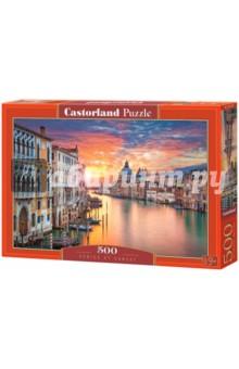 Puzzle-500 Венеция на закате (B-52479) puzzle 500 яркие совы alpz500 7701