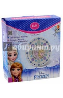Набор для росписи тарелки  Frozen. Принцессы (63871) набор для росписи тарелки даша и башмачок 65120