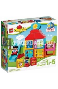 Конструктор Дупло Мой первый игровой домик (10616) lego конструктор lego duplo мой первый игровой домик 10616