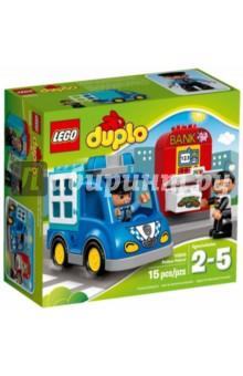 Конструктор DUPLO Полицейский патруль (10809) lego duplo полицейский патруль 10809