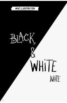 Black&White Note. Стильный блокнот с черными и белоснежными страницами, А5+ black note