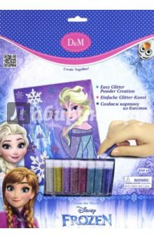 Набор для декорирования Frozen. Эльза (с блестками) (65110)