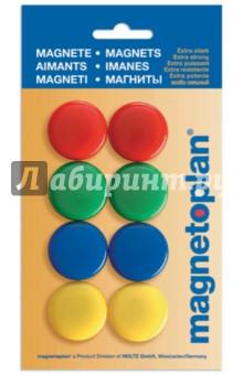 Магниты сигнальные в блистере. 8 штук. d=30 мм. (16663) сигнальные ракеты 15 мм купить в украине