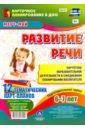 Развитие речи. Картотека образовательной деятельности в ежедневном планировании воспитателя, Ничепорчук Т. П.