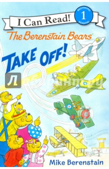 The Berenstain Bears Take Off! (Level 1) otto the book bear in the snow